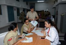 Chandigarh Police in association with Max Super Specialty Hospital, Mohali multispecialty healthcamp
