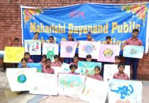 Maharishi Dayanand Public School, Poster Making compition, WorldPopulationDay