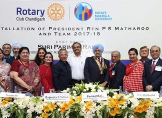 Rotary,Health Education Centre,Parimal Rai, Advisor to Administrator lauds Rotary's community service initiatives