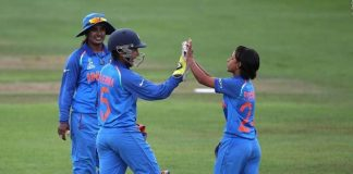 captain Mithali Raj , Rajeshwari Gayakwad's , Indian women ,semi-finals of the ICC Women's World Cup 2017.