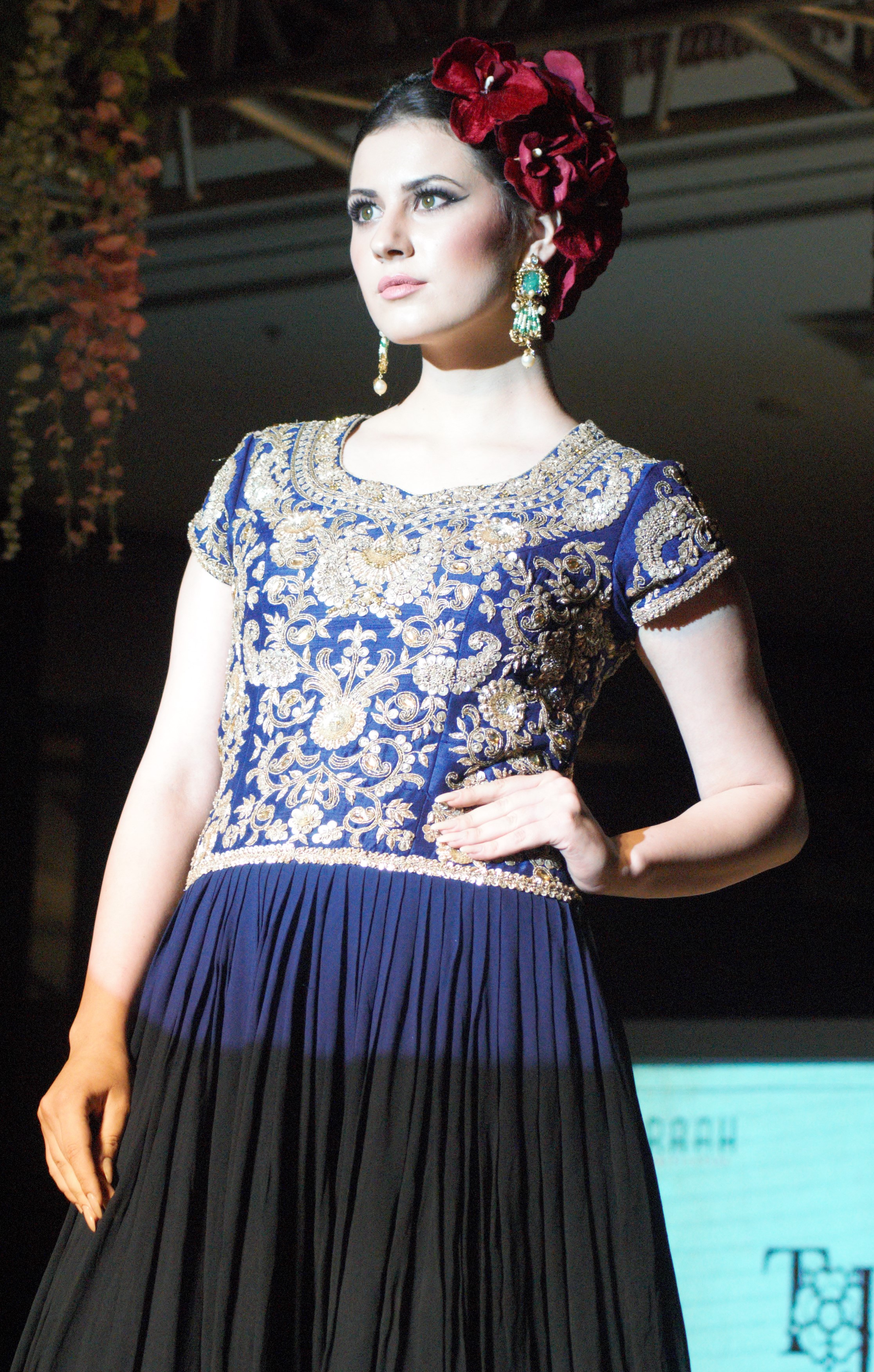 : FASHION SHOW HELD AT J W MARRIOTT