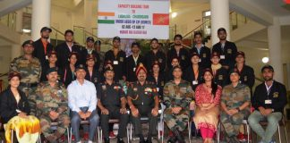 YOUTH FROM REMOTE AREAS IN J&K VISIT CHANDIMANDIR