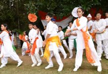 Independence Day was celebrated by The British School, Sec 44 in the School's campus