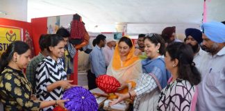 Union Minister Harsmrat Kaur Badal Inaugurated DAVP Exhibition 'Naya Bharat Karke Rahenge' in Chandigarh