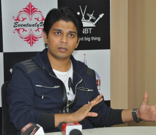 """""""Famous Bollywood playback singer Ankit Tiwari Addressing a press meet about His New Single"""