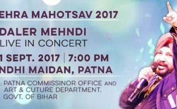Dushehra celebrations to start with a Big Bang with the Son of Bihar, Daler Mehndi.