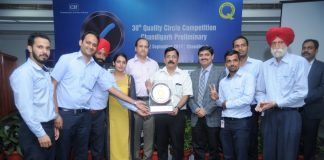 Swaraj Engines Ltd wins CII 30th Quality Circle Preliminary Competition