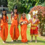 Dussehra was celebrated at CRB Public School