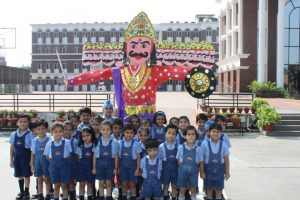 Dussehra Celebrations at RIMT World School