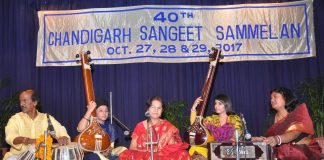 Three-day 40th Chandigarh Sangeet Sammelan starts