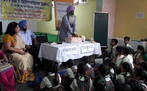 St. Paul's School organised First Aid Training Workshop for students