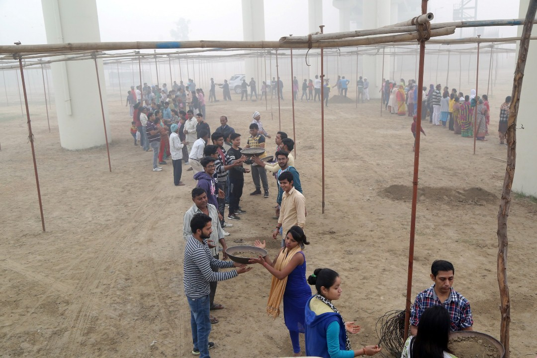 70TH ANNUAL SANT SAMAGAM PREPARATIONS IN FULL SWING