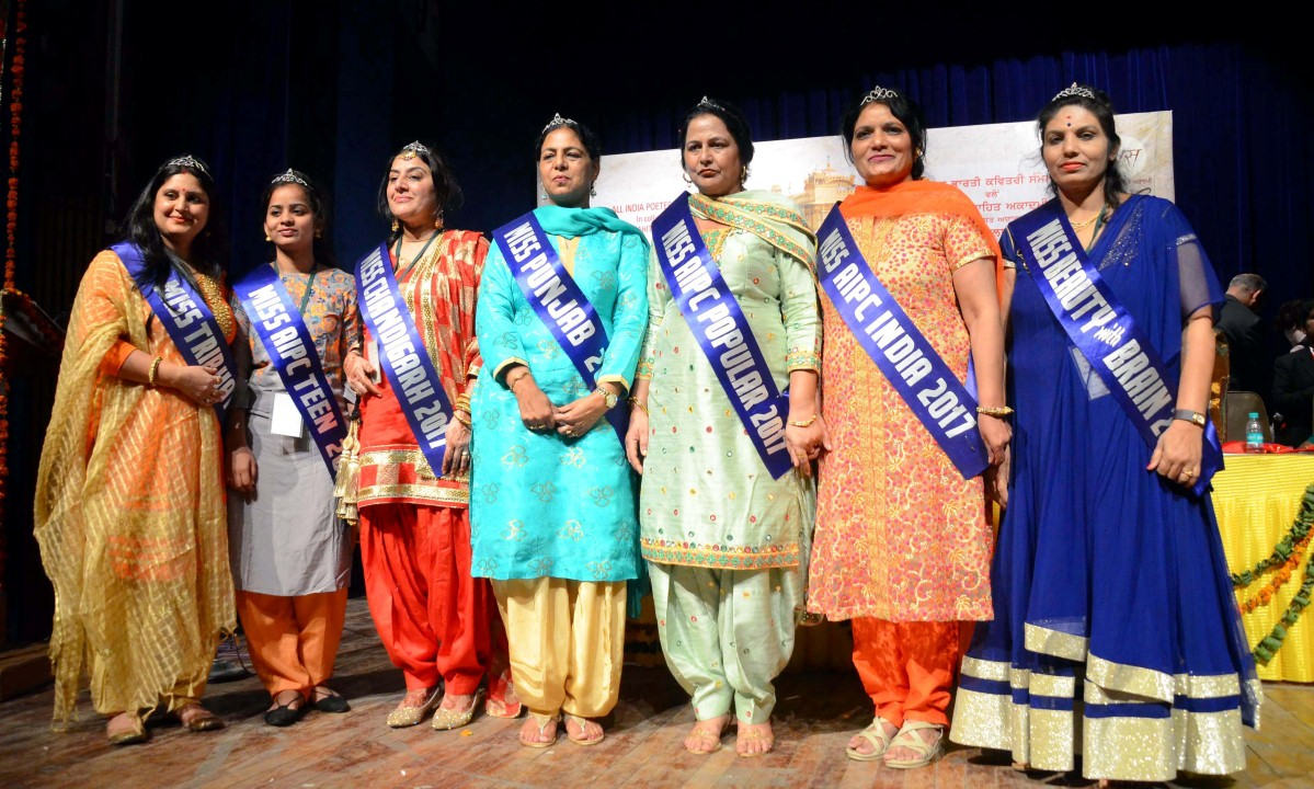 Miss Beauty with Brain ,SunitaShrutishree from Delhi as Miss Trip Hat Trick , Ashwani from Gulbarga as Miss AIPC Teen, Harki Virk from Chandigarh as Miss Chandigarh  and Jaspreet Sheena from Gurdaspur as Miss Popular.