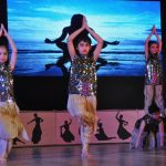 """Students of Dikshant International School, participating in the School's Annual Day celebration 'Navras'."""