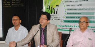 Dr.. Navdeep Sharma expansion in British Parliament Ayurveda