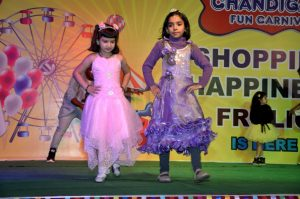 Girl students from various schools take part in Chandigarh Fun Carnival
