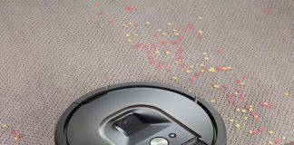The Roomba 980 robot vacuum gives you cleaner floors, throughout your entire home, all at the push of a button