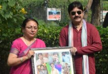 Renowned Social Activist Renu Mathur Felicitates famous Bollywood Actor Yashpal Sharma in Honour of Haryana
