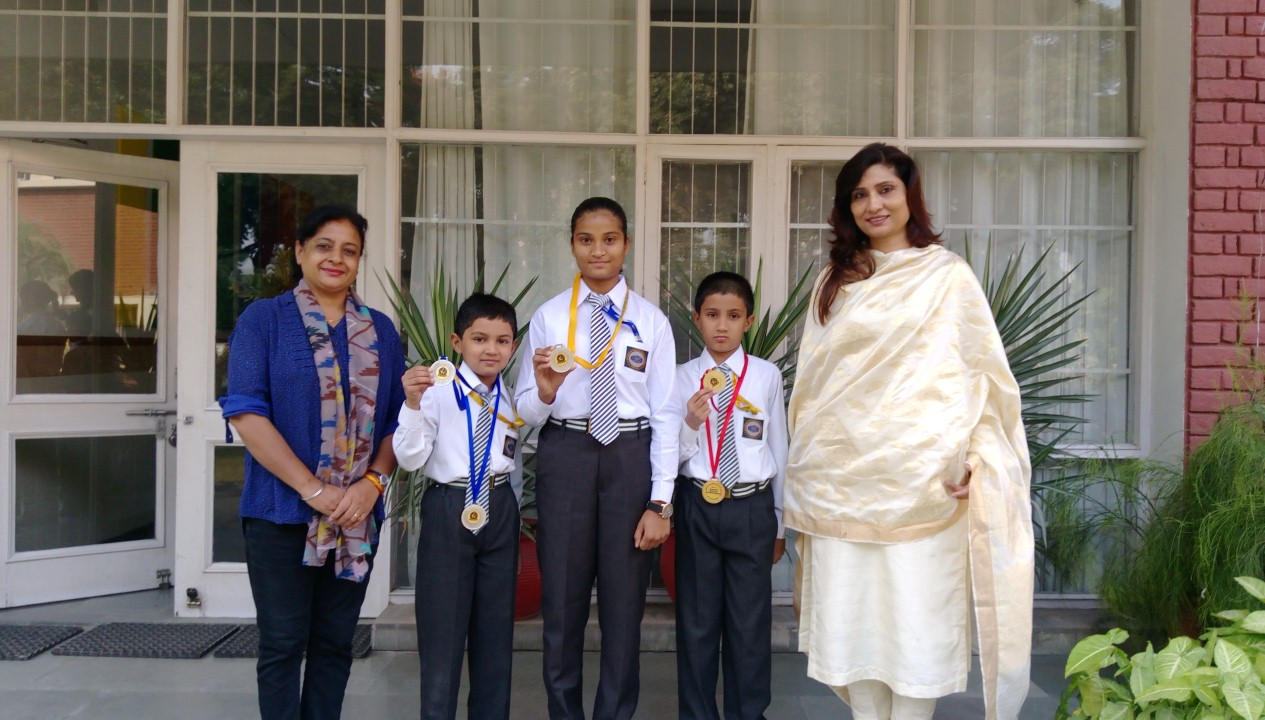 AUROBINDO CHAMPS WIN GOLD AND SILVER MEDALS