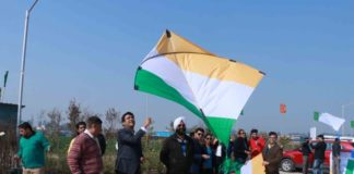 Sushma Group holds kite festival to mark Republic Day