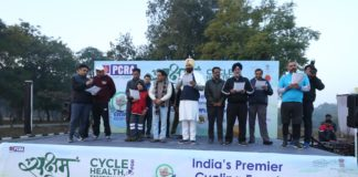 Cyclothon held on World Cycling Day