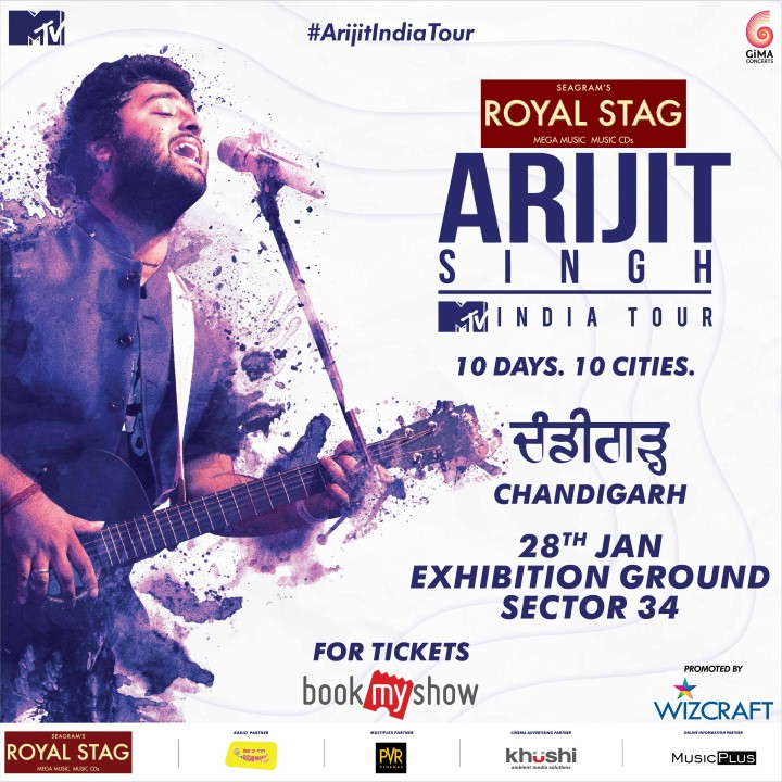 ARIJIT SINGH 2018 TOURALL SET TO TAKE INDIA BY STORM