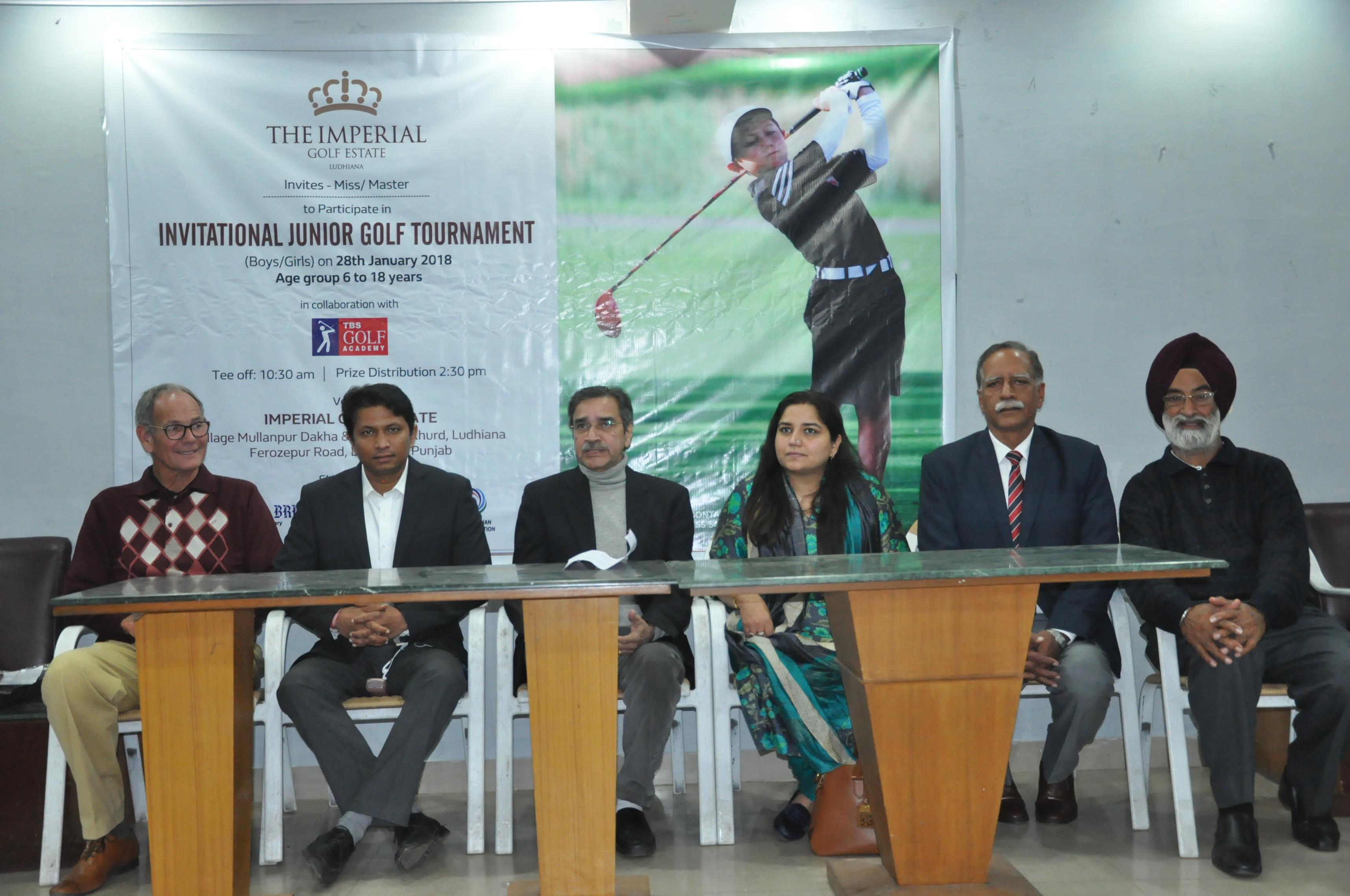 The Imperial Golf Estate to organise golf tournament for Juniors