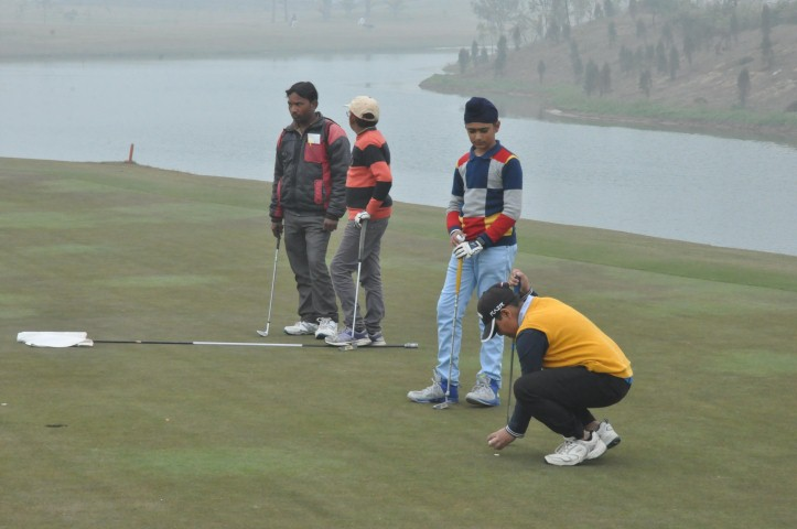 """A Golf tournament was held at The Imperial Golf Estate near Ludhiana for Junior Golfers."""
