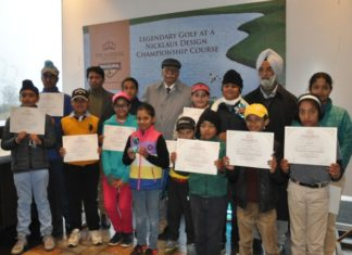"""""""A Golf tournament was held at The Imperial Golf Estate near Ludhiana for Junior Golfers."""""""
