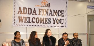 PRESS RELEASE Adda Finance a unique Start Up enters Angel Investment arena