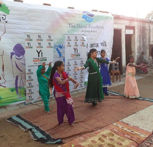 CII Yi celebrates Republic Day with Akshar School Students