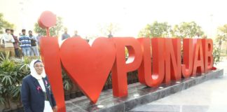 A Virtuous Retail signature, the iconic 'I Love Punjab' installation was unveiled by legendary athlete Smt. Man Kaur at VRPunjab