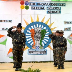 The Knowledge bus Global School Celebrated Republic Day