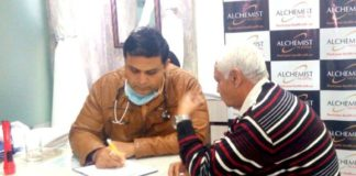 Free chest, sleep diseases camp held at Zirakpur