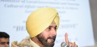 NAVJOT SINGH SIDHU ADVOCATES A ROBUST YOUTH POLICY