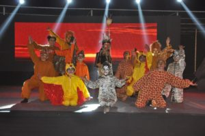 """""""Dikshant Global School, Zirakpur held its Annual day at the School campus , in which renowned Bollywood Director Abhinav Kashyap was Chief guest and the children gave a riveting presentation of the musical -The Lion King."""""""