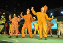 """Dikshant Global School, Zirakpur held its Annual day at the School campus , in which renowned Bollywood Director Abhinav Kashyap was Chief guest and the children gave a riveting presentation of the musical -The Lion King."""