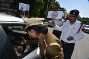 Chandigarh Traffic Police has conducted a special drive against various traffic offences in the city