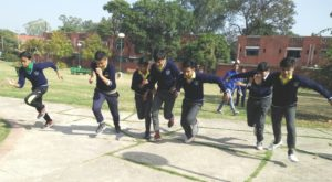 CRB Public School of sector 7B, Chandigarh is celebrating its Annual sports meet