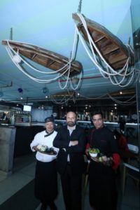 The largest theme based which is a Marine theme with boats, ropes, paddles and fishing nets 'Boathouse', inspired by the European concept of boats docked for a riverside party, as in Venice and Amsterdam, has swung its doors open at the Elante Mall. The 13,000 sq ft expanse spread over two floors is the brainchild of a hospitality biggie