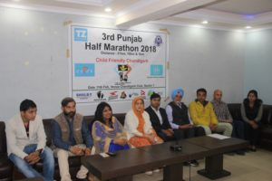In the third edition of 'Punjab-Half Marathon-2018', as many as 2,000 people will run for the cause of 'Child Friendly-Chandigarh' on February 11 (Sunday)