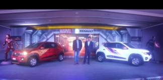 RENAULT REVEALS THE KWID SUPER HERO EDITION IN ASSOCIATION WITH MARVEL'S AVENGERS