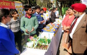 GJIMT hold an Exhibition on Human Values and Professional Ethics