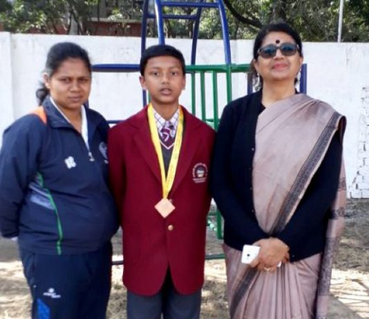 Ankur School's Abhiyash brings laurels by winning bronze in Nationals