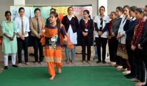 Rattan Group nursing students aware the residents about health issues