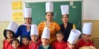 The Holy wonder School organises 'Green Day' to encourage healthy diet among children