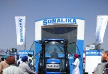 Sonalika Tractors showcased its superior tractor range at 'PAU Kisan Mela' in Ludhiana