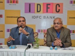 IDFC Bank's branchin Chandigarh is located at SCO 169 17