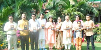 """The morning of world poetry day was marked by the launch of a poetry book """"UDGAAR"""""""