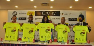 A First time in tricity Sports & Entertainment event- Exotic Grandeur Mirchi Neon Run